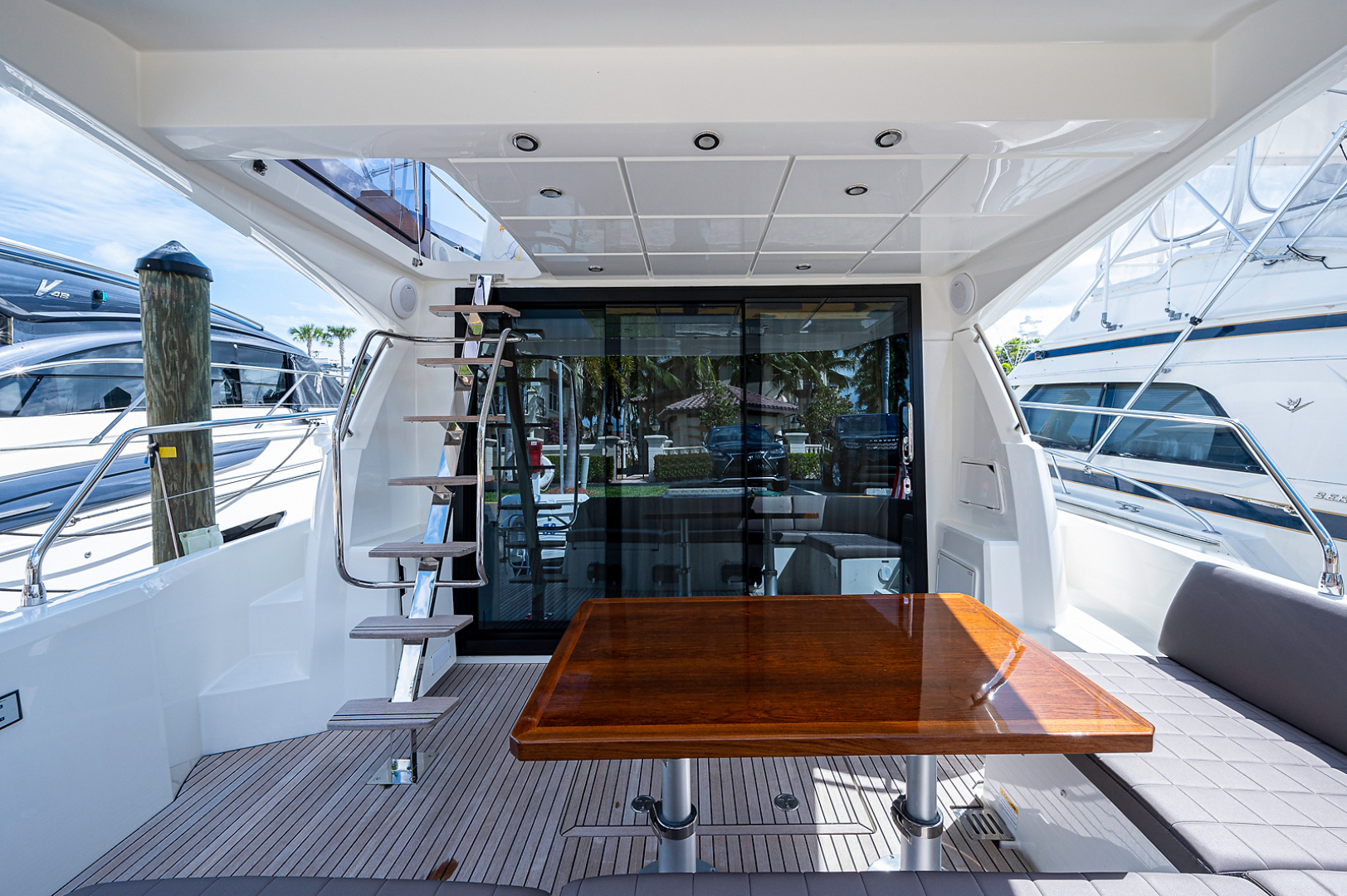 Prestige-460 Flybridge 2018-SEAQUEL Palm Beach Gardens-Florida-United States-Cockpit -1351137 | Thumbnail