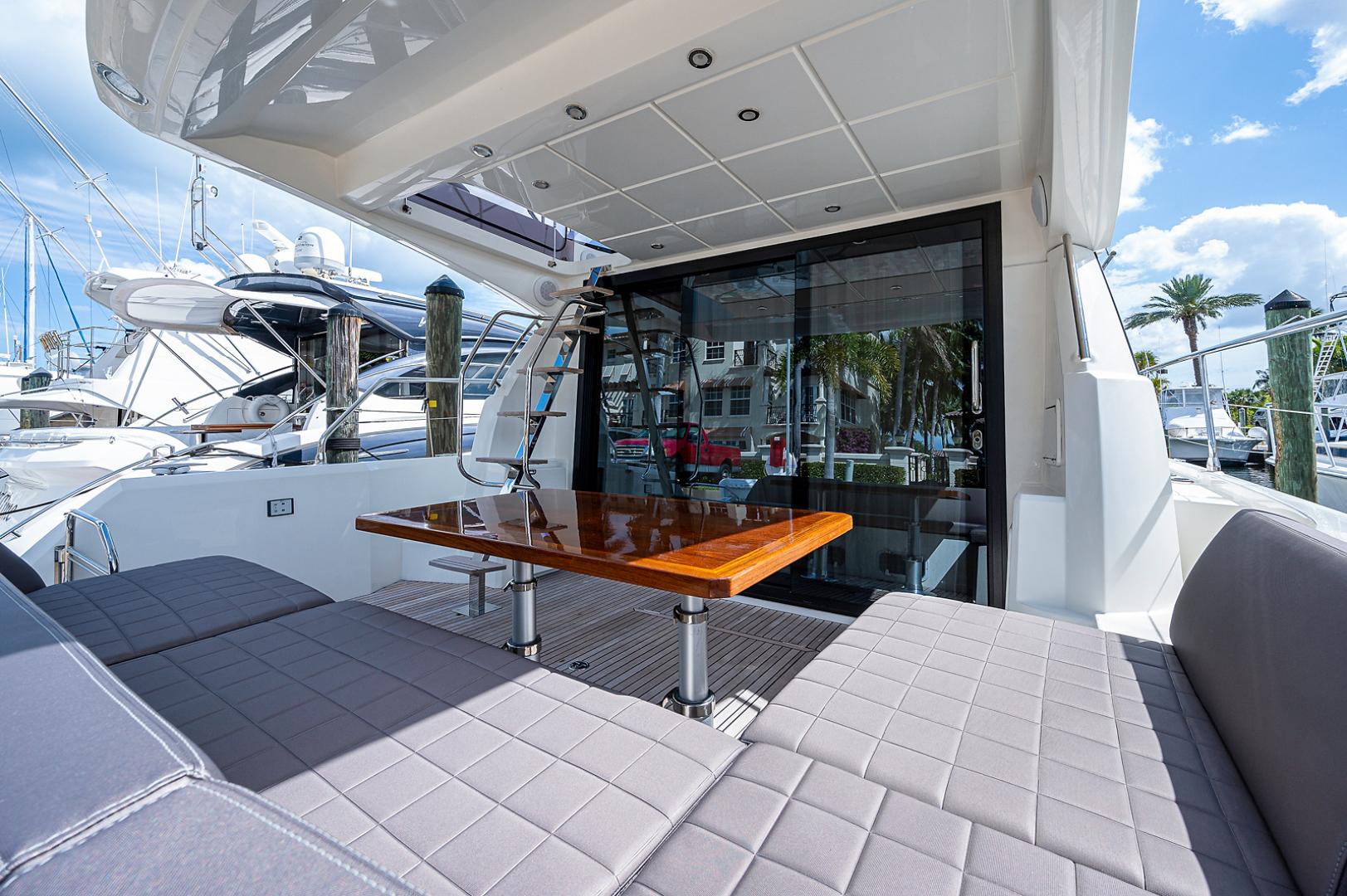 Prestige-460 Flybridge 2018-SEAQUEL Palm Beach Gardens-Florida-United States-Cockpit -1351138 | Thumbnail
