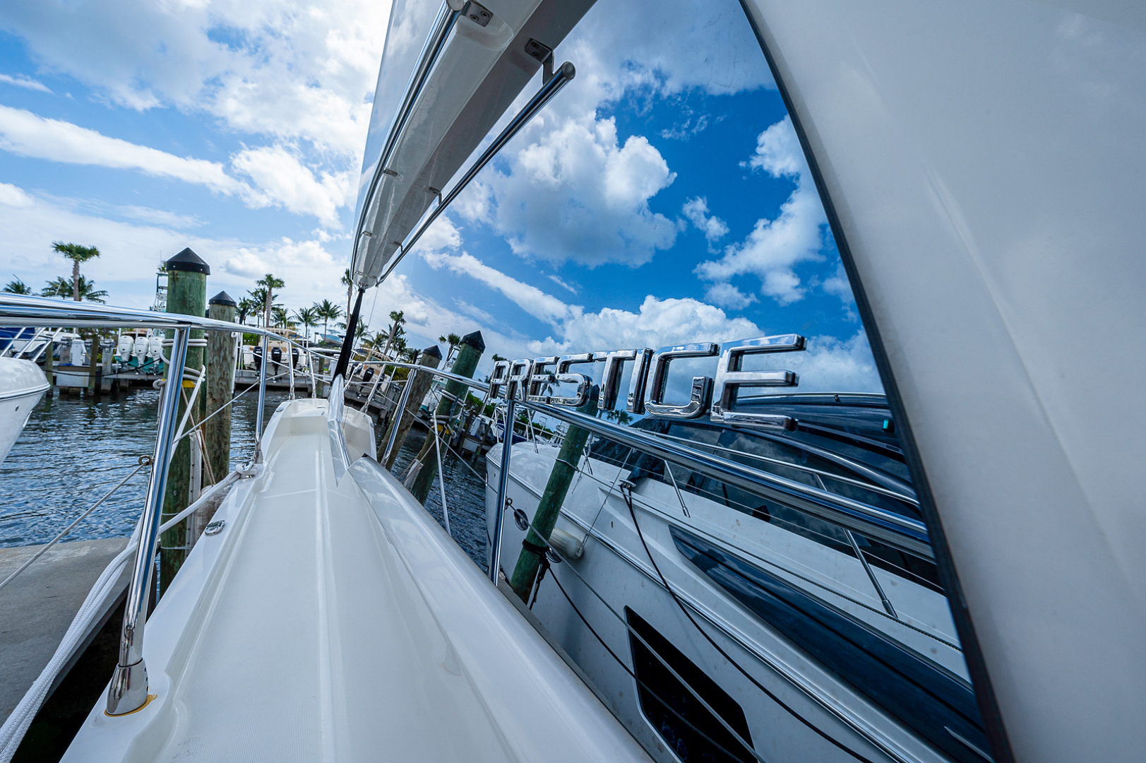 Prestige-460 Flybridge 2018-SEAQUEL Palm Beach Gardens-Florida-United States-Walkaround/Bow-1351145 | Thumbnail