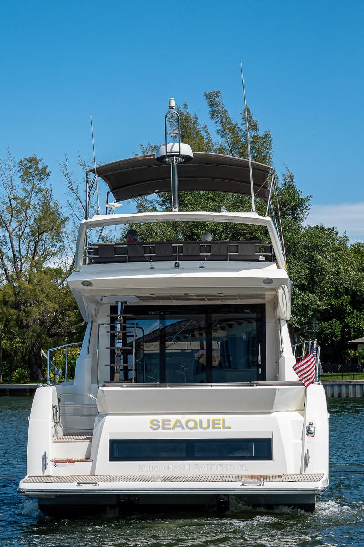 Prestige-460 Flybridge 2018-SEAQUEL Palm Beach Gardens-Florida-United States-Stern-1351132 | Thumbnail