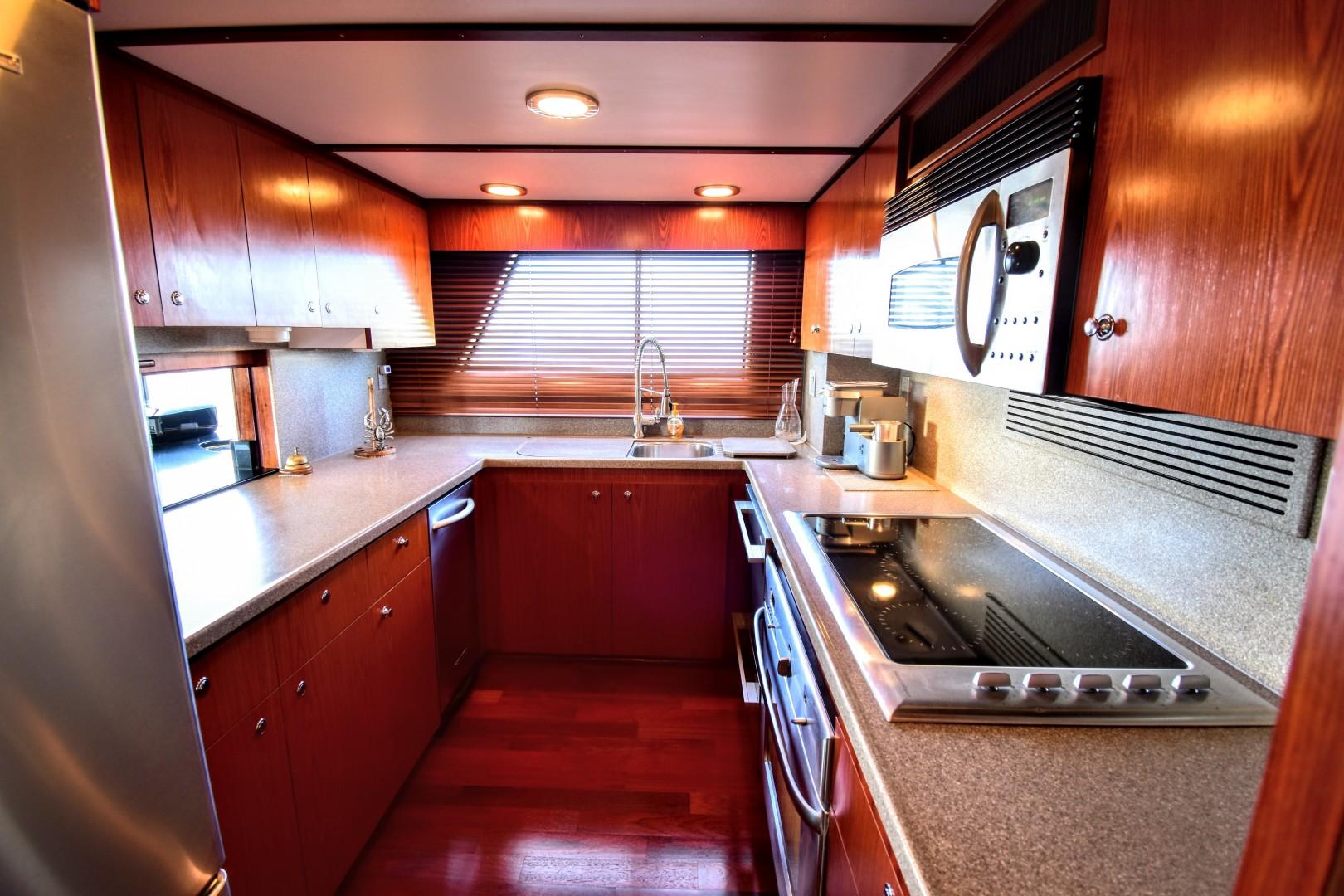 Hatteras-82 Cockpit Motor Yacht 1985-Papillon Seabrook-Texas-United States-Hatteras Motor Yacht 1985 Papillon Galley-1345380 | Thumbnail