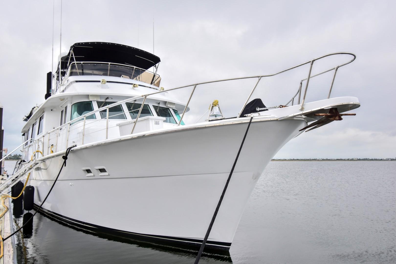 Hatteras-82 Cockpit Motor Yacht 1985-Papillon Seabrook-Texas-United States-Hatteras Motor Yacht 1985 Papillon-1345403 | Thumbnail