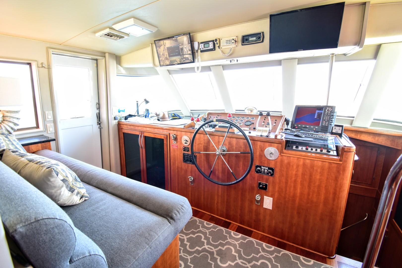 Hatteras-82 Cockpit Motor Yacht 1985-Papillon Seabrook-Texas-United States-Hatteras Motor Yacht 1985 Papillon Pilothouse-1345385 | Thumbnail