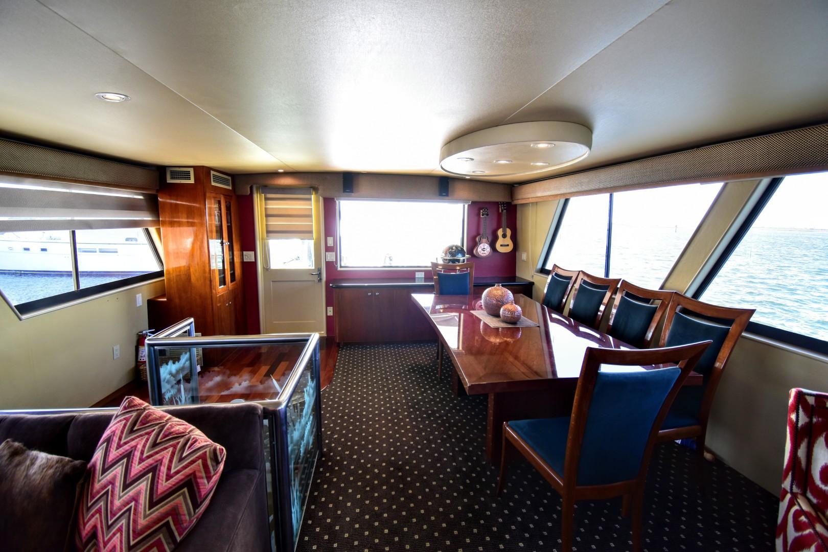 Hatteras-82 Cockpit Motor Yacht 1985-Papillon Seabrook-Texas-United States-Hatteras Motor Yacht 1985 Papillon Salon-1345370 | Thumbnail