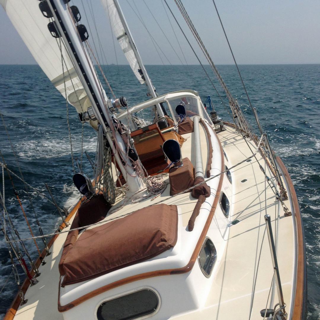 Sparkman & Stephens-Sailmaster Yawl 45 1965-MIDNIGHT Dighton-Massachusetts-United States-Midnight Sailing-1345472 | Thumbnail