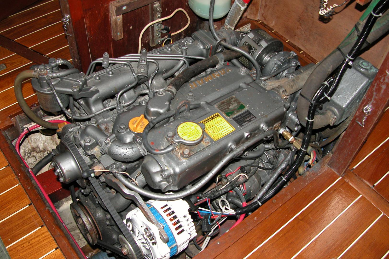 Sparkman & Stephens-Sailmaster Yawl 45 1965-MIDNIGHT Dighton-Massachusetts-United States-Midnight Access To Engine-1345453 | Thumbnail