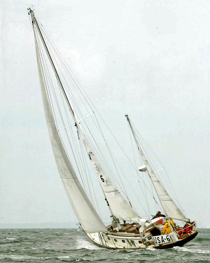 Sparkman & Stephens-Sailmaster Yawl 45 1965-MIDNIGHT Dighton-Massachusetts-United States-Midnight Sailing-1345471 | Thumbnail