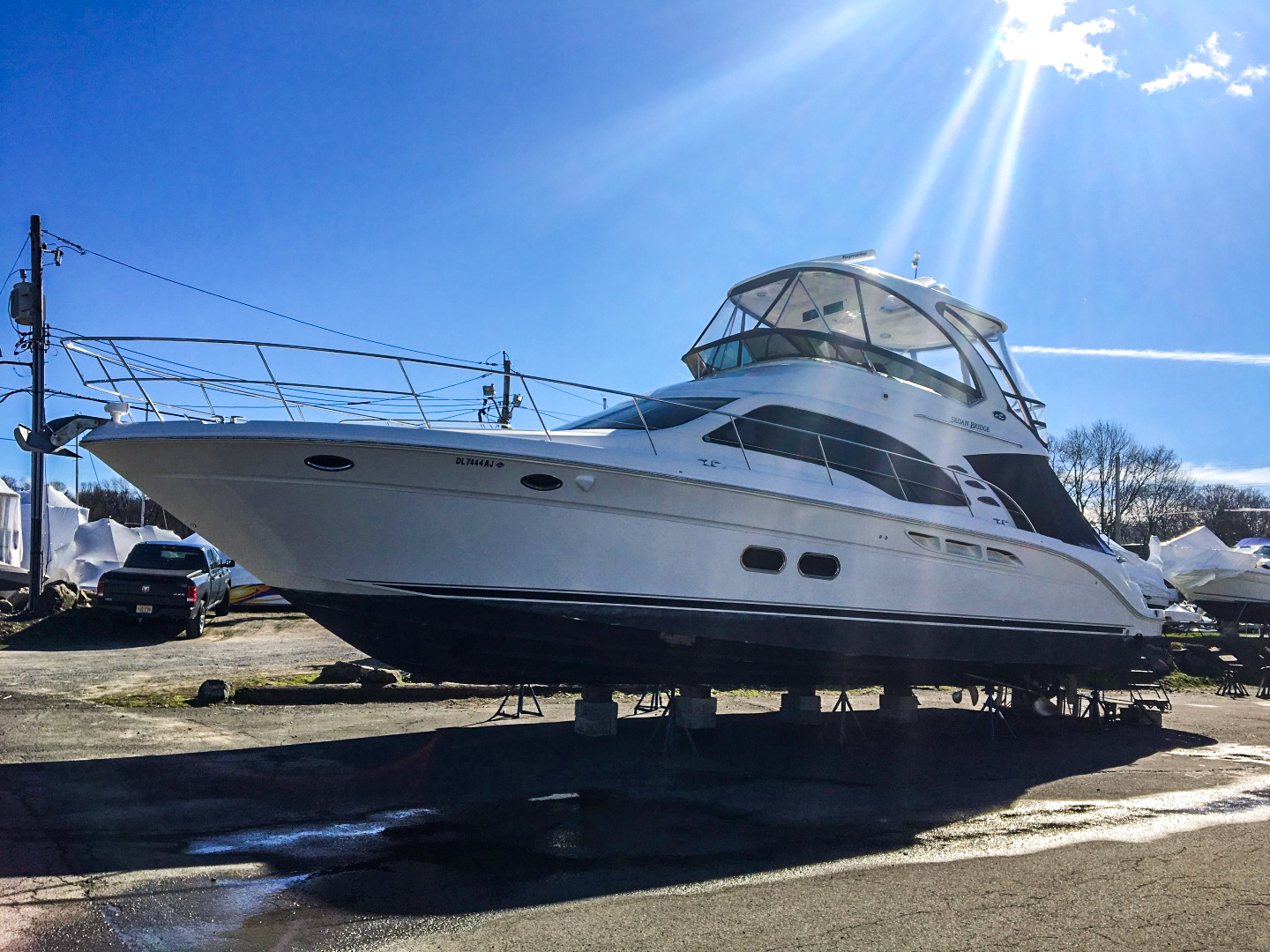 Picture Of: 52' Sea Ray 52 Sedan Bridge 2007 Yacht For Sale | 1 of 16