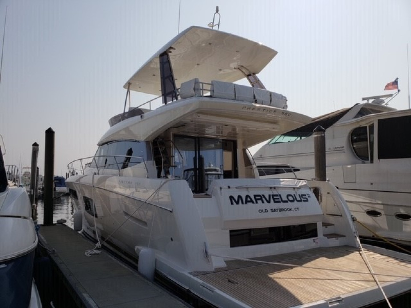 Picture Of: 58' Prestige 560 Flybridge 2018 Yacht For Sale | 2 of 5