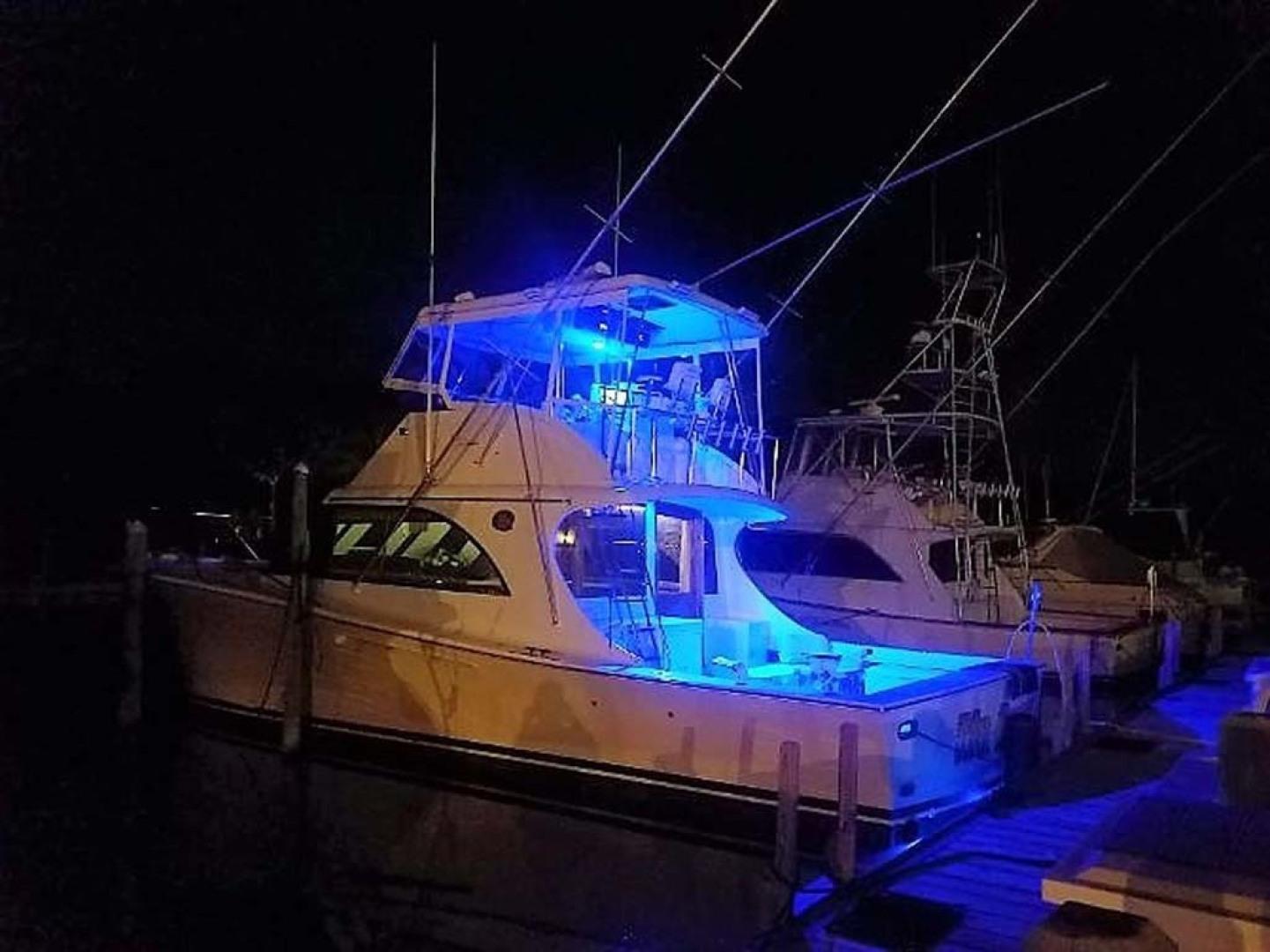 Jersey-42 Convertible Sportfisherman 1990-Mr. Breeze Center Moriches-New York-United States-Night Lighting-1346357 | Thumbnail