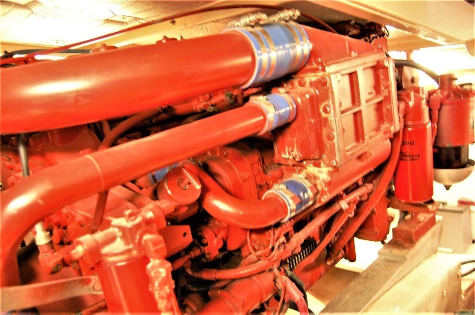 Jersey-42 Convertible Sportfisherman 1990-Mr. Breeze Center Moriches-New York-United States-Port Engine-1346381 | Thumbnail