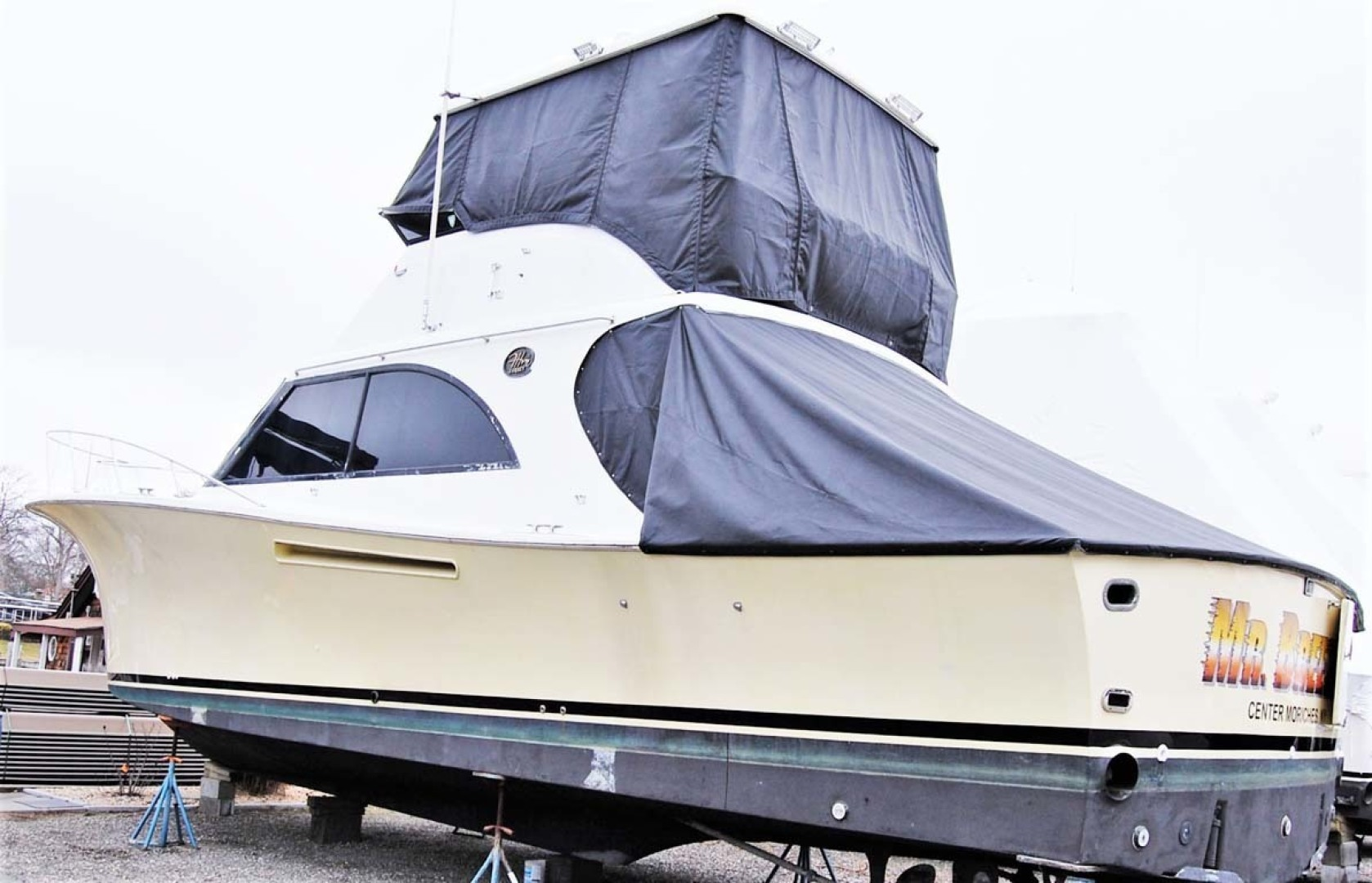 Jersey-42 Convertible Sportfisherman 1990-Mr. Breeze Center Moriches-New York-United States-42 Jersey Convertible  Covers-1346388 | Thumbnail