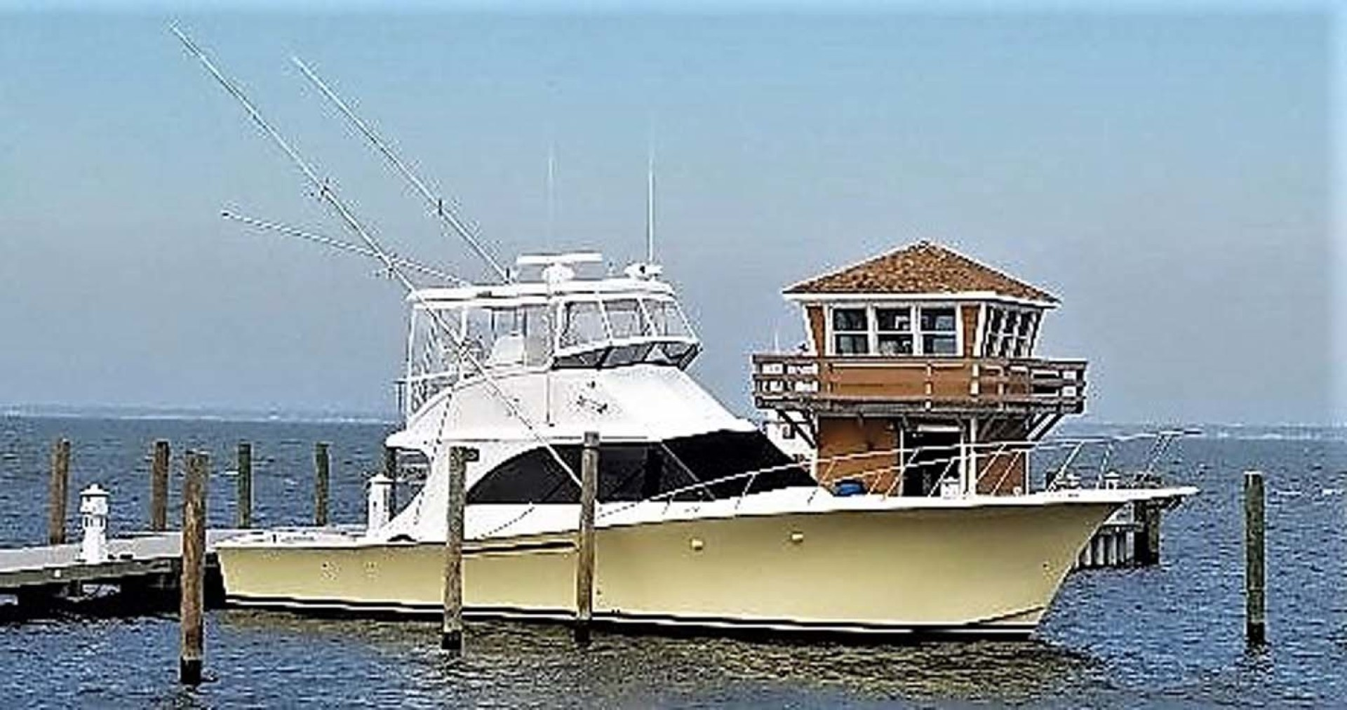 Jersey-42 Convertible Sportfisherman 1990-Mr. Breeze Center Moriches-New York-United States-Starboard Profile-1346348 | Thumbnail