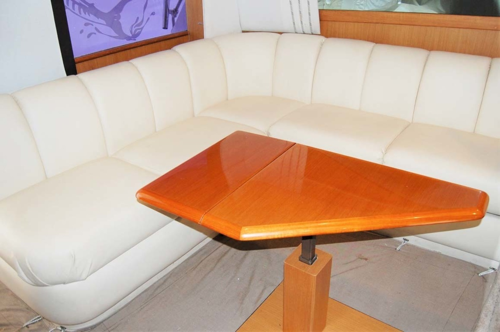 Ocean Yachts-43 Super Sport 2003-Ambition Massapequa-New York-United States-Salon Hi-Low Table-1346458 | Thumbnail