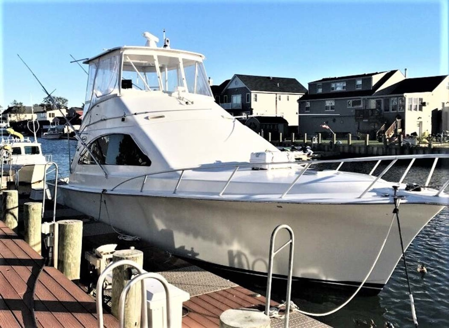 Ocean Yachts-43 Super Sport 2003-Ambition Massapequa-New York-United States-Starboard Dockside-1346470 | Thumbnail