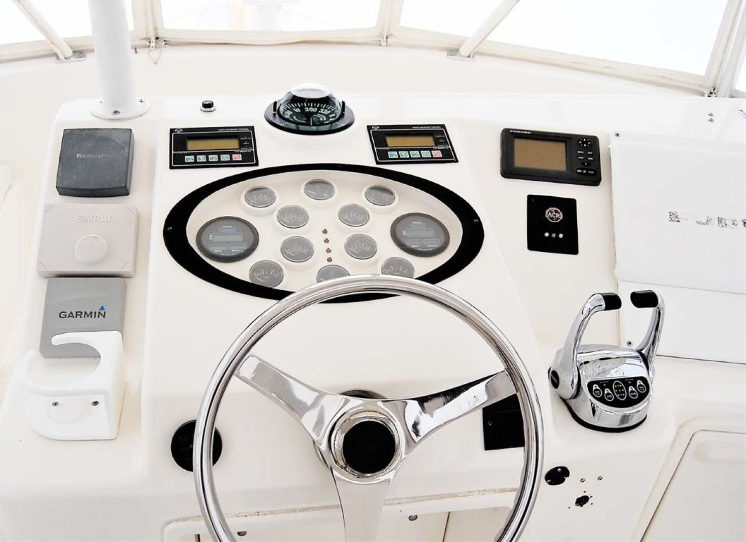 Ocean Yachts-43 Super Sport 2003-Ambition Massapequa-New York-United States-Helm-1346473 | Thumbnail