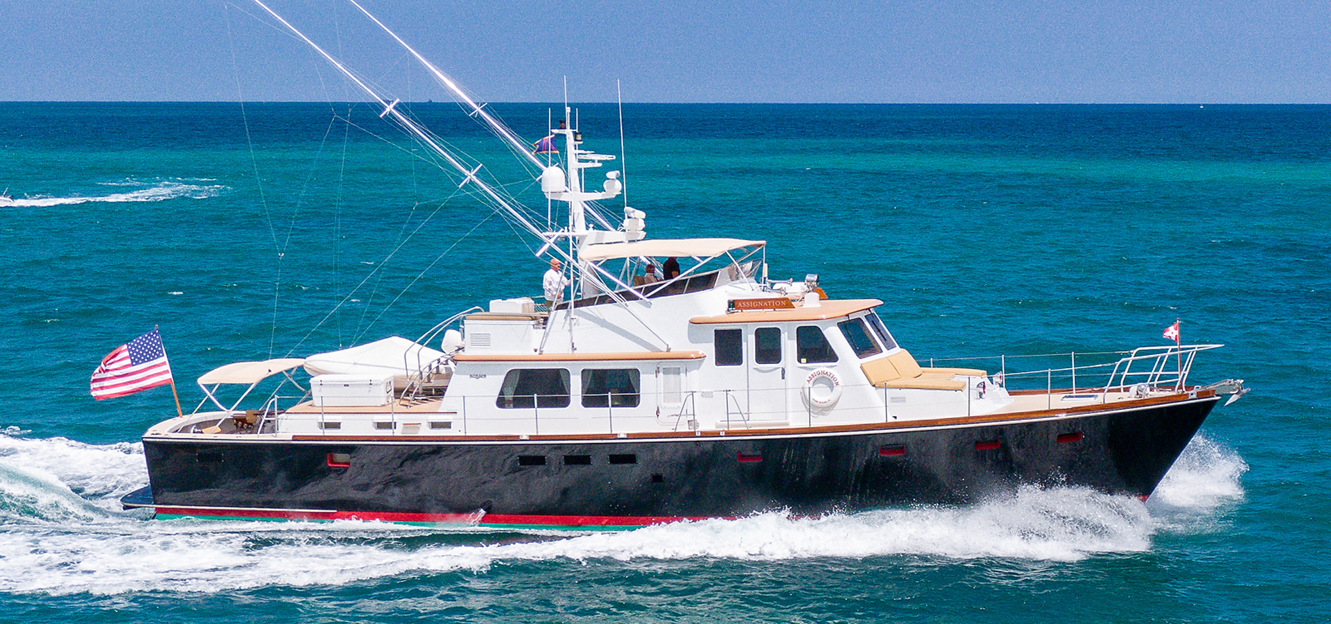 Picture Of: 72' Burger Hunt Design Express Cruiser 1988 Yacht For Sale | 2 of 30