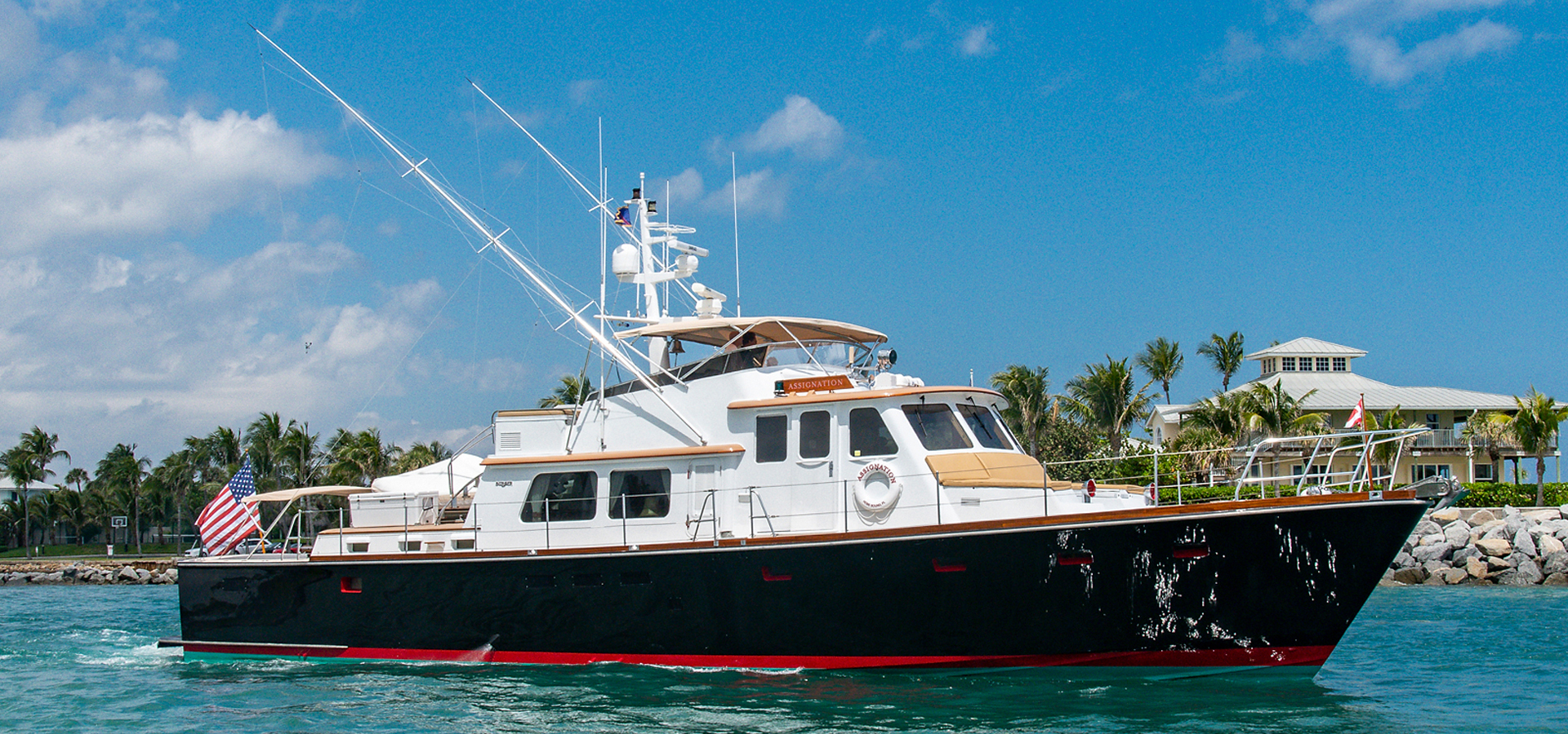 Picture Of: 72' Burger Hunt Design Express Cruiser 1988 Yacht For Sale | 1 of 30