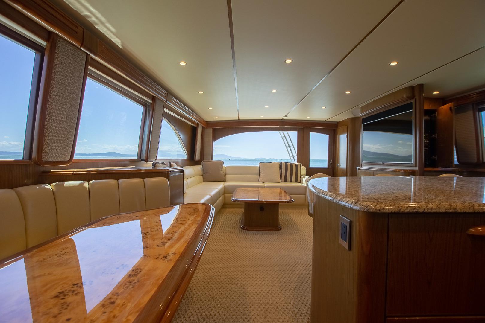 Viking-76 Enclosed Skybridge 2012-Reel Power Palm Beach-Florida-United States-Salon -1346565   Thumbnail