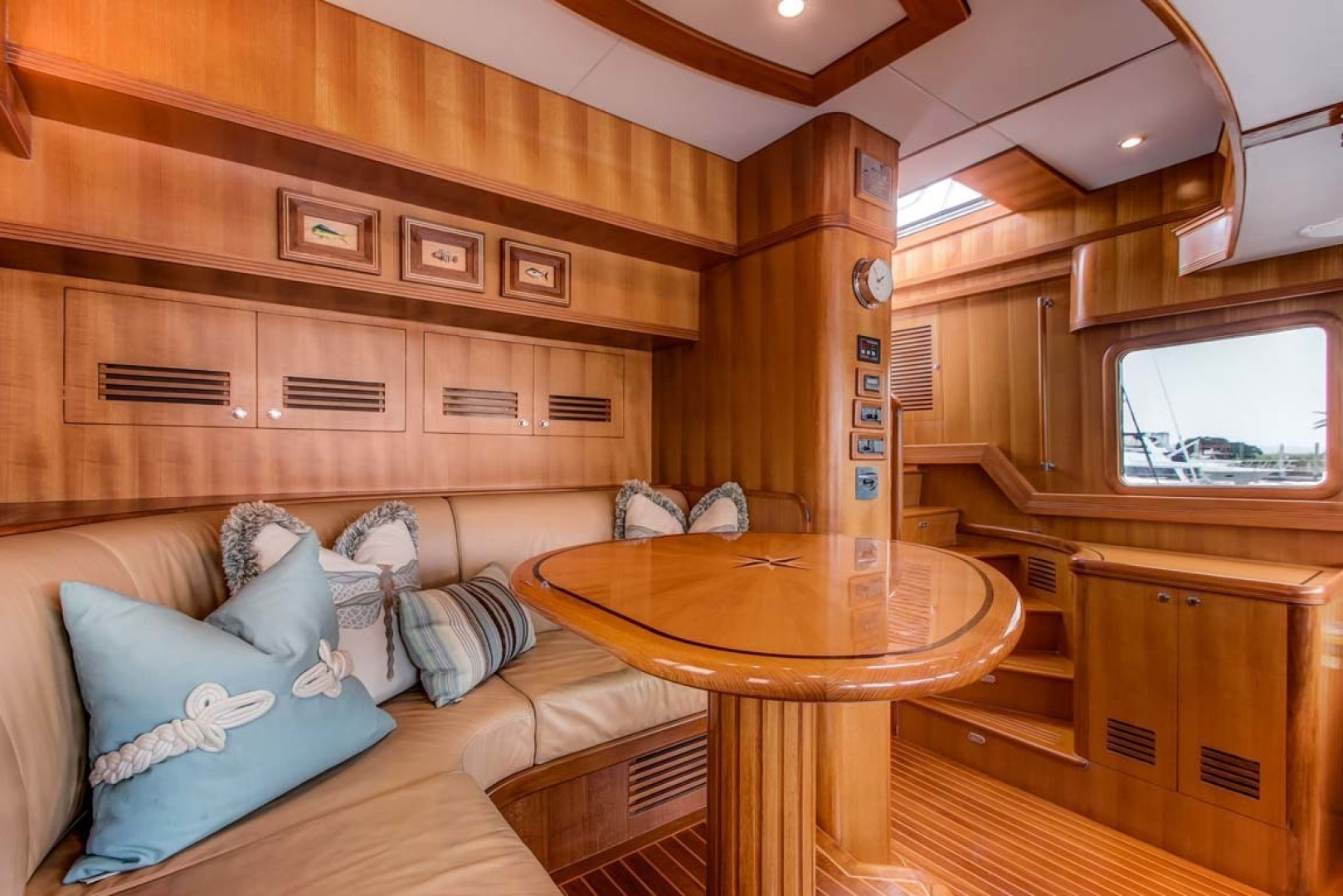 Selene-60 Ocean Trawler 2010-Gypsy Magic Jacksonville-Florida-United States-Helm+Settee-1346728 | Thumbnail