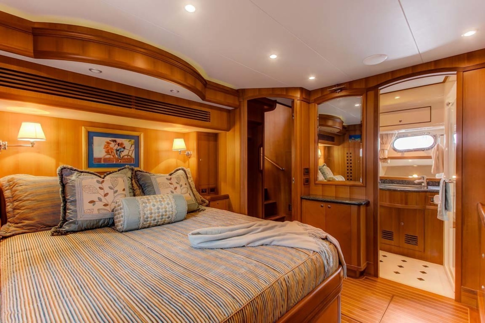 Selene-60 Ocean Trawler 2010-Gypsy Magic Jacksonville-Florida-United States-Master Stateroom-1346751   Thumbnail