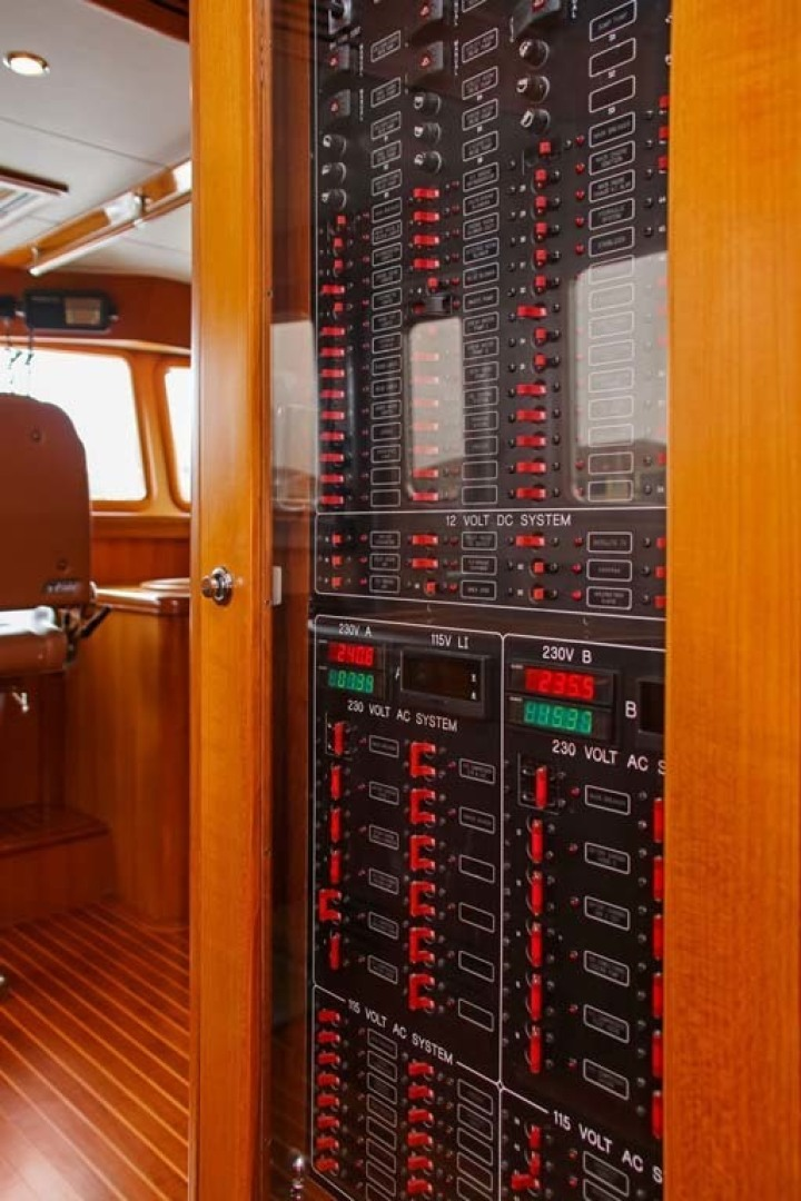 Selene-60 Ocean Trawler 2010-Gypsy Magic Jacksonville-Florida-United States-Circuit+Panel-1346730 | Thumbnail