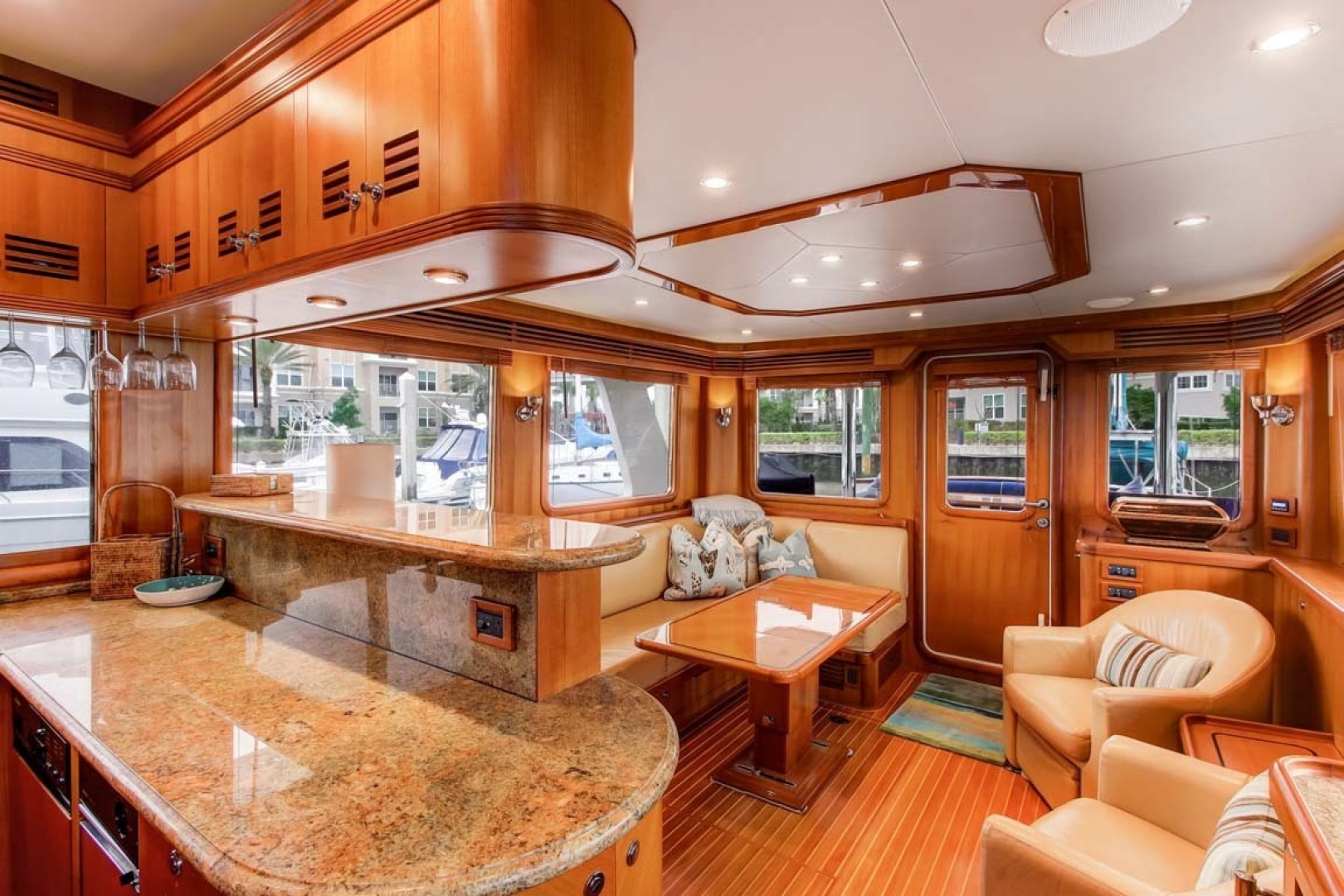 Selene-60 Ocean Trawler 2010-Gypsy Magic Jacksonville-Florida-United States-Salon And Galley-1346737 | Thumbnail