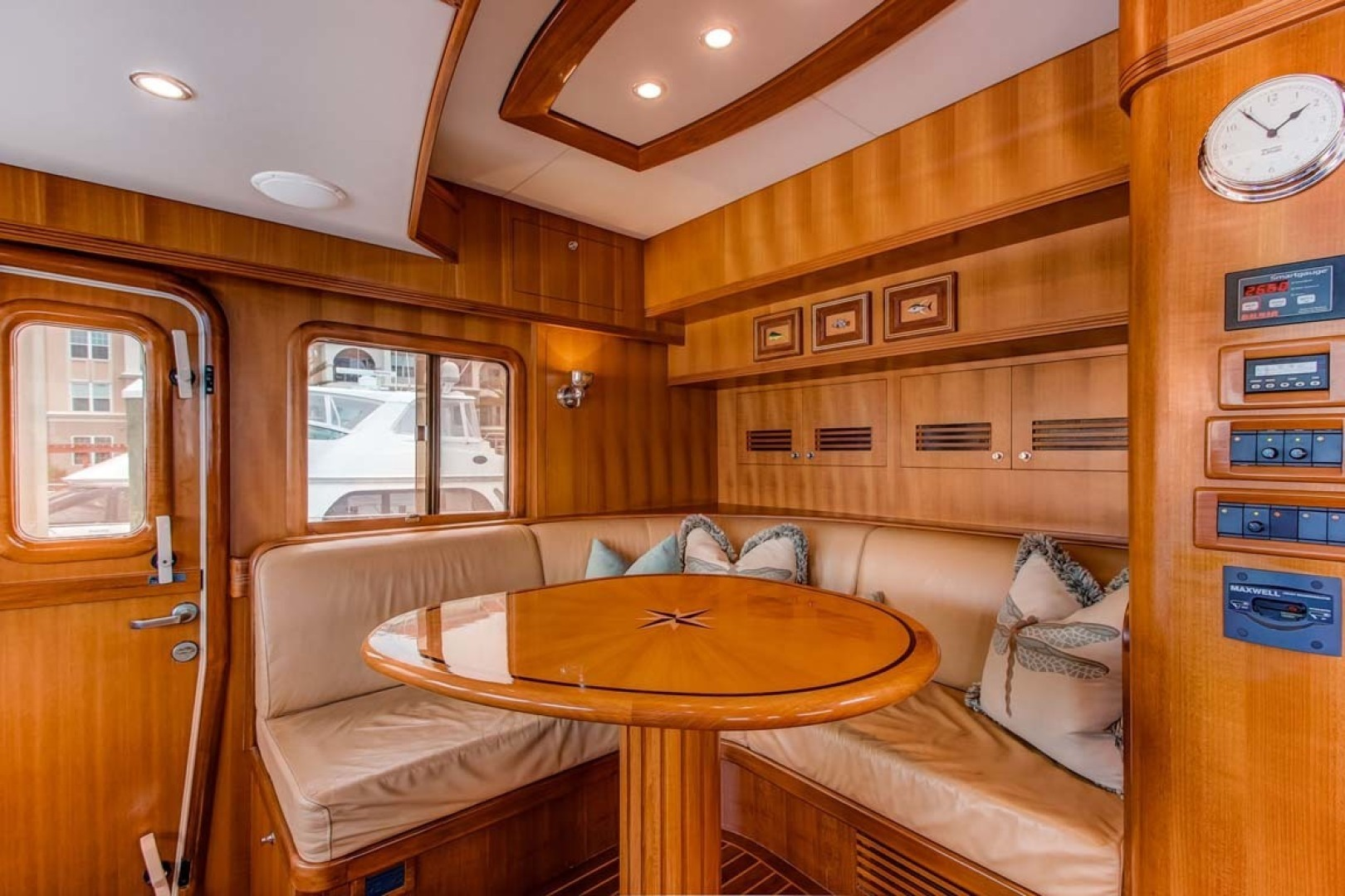 Selene-60 Ocean Trawler 2010-Gypsy Magic Jacksonville-Florida-United States-Helm+Settee-1346727 | Thumbnail