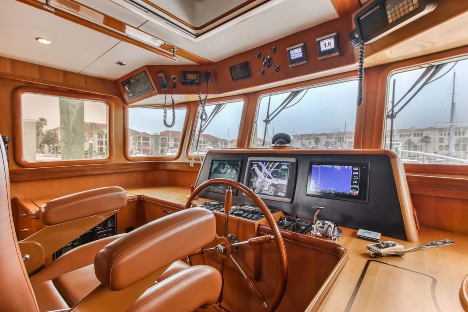 Selene-60 Ocean Trawler 2010-Gypsy Magic Jacksonville-Florida-United States-Helm station-1346720 | Thumbnail