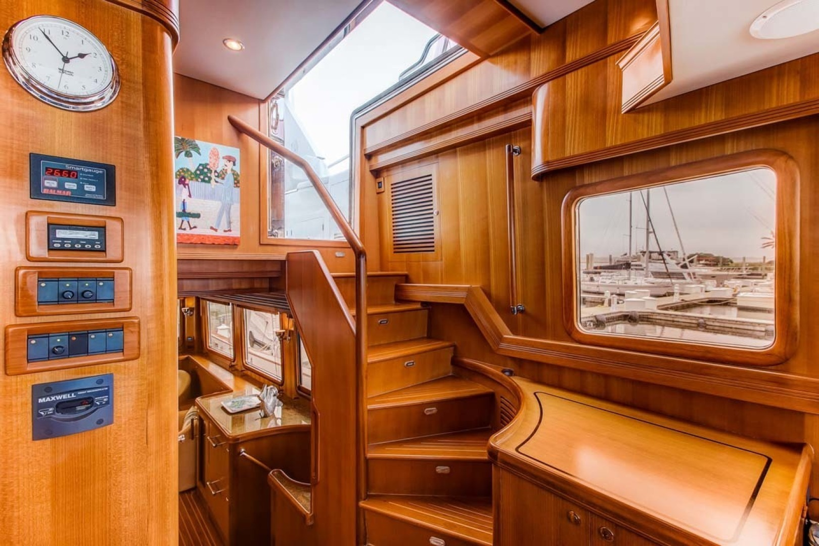 Selene-60 Ocean Trawler 2010-Gypsy Magic Jacksonville-Florida-United States-Helm station-1346726 | Thumbnail