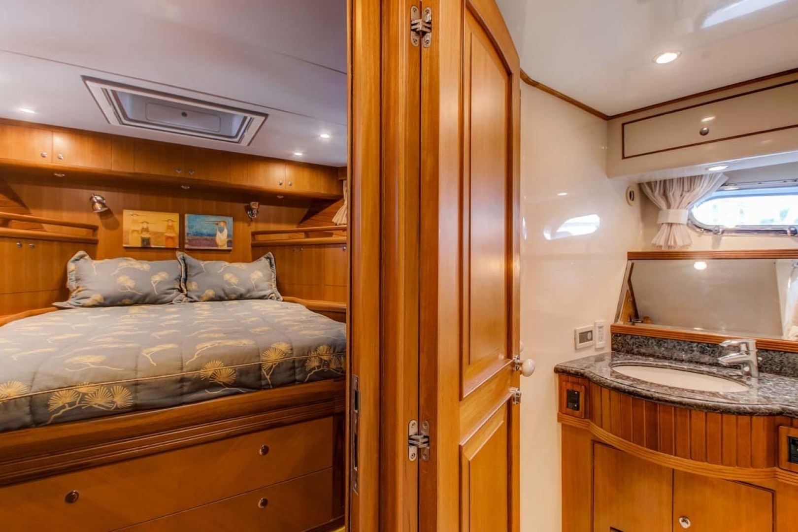 Selene-60 Ocean Trawler 2010-Gypsy Magic Jacksonville-Florida-United States-Forward Stateroom-1346754 | Thumbnail