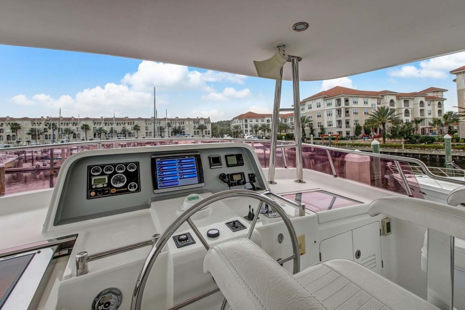 Selene-60 Ocean Trawler 2010-Gypsy Magic Jacksonville-Florida-United States-Bridge Deck Station-1346780 | Thumbnail