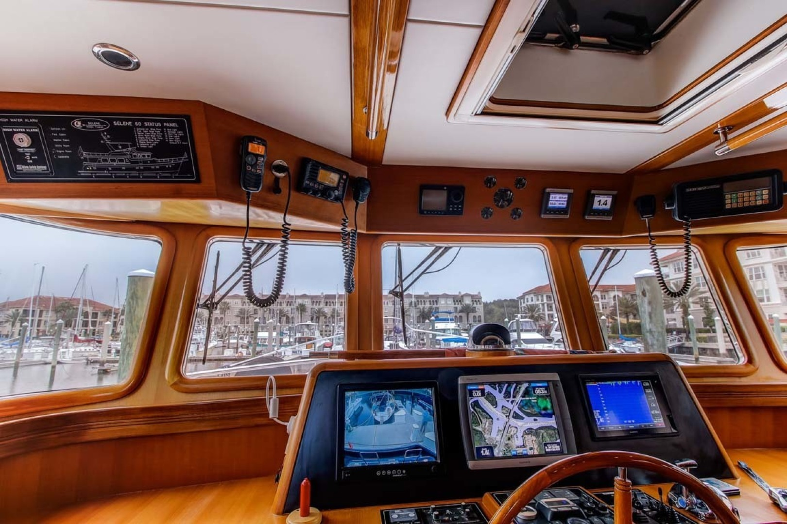 Selene-60 Ocean Trawler 2010-Gypsy Magic Jacksonville-Florida-United States-Helm station-1346723 | Thumbnail