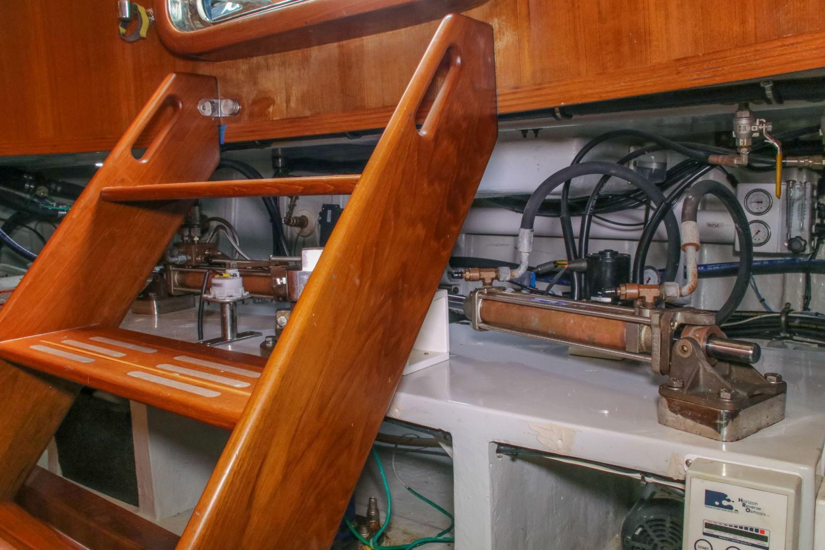 Selene-60 Ocean Trawler 2010-Gypsy Magic Jacksonville-Florida-United States-Lazarette-1346778   Thumbnail