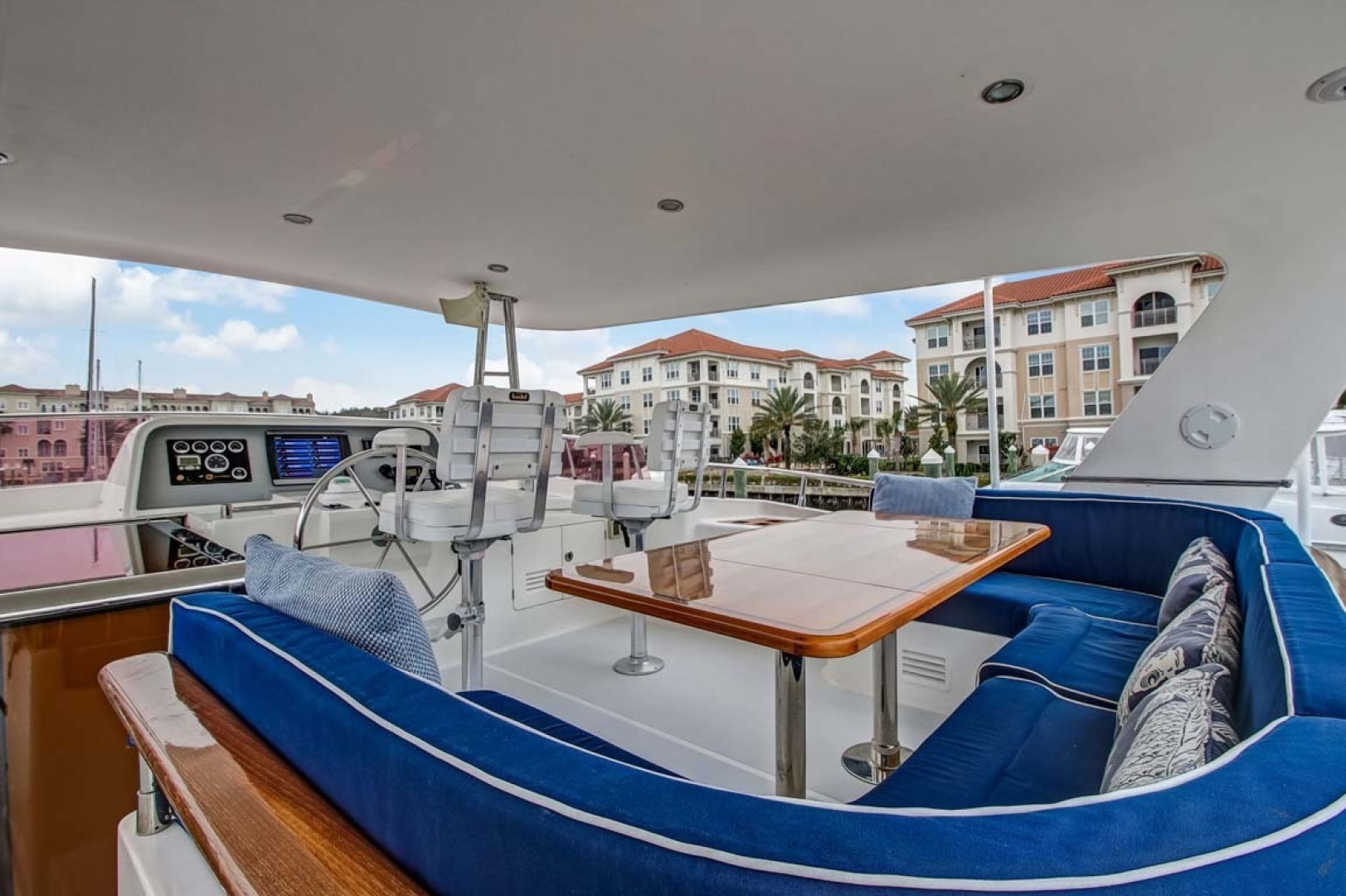 Selene-60 Ocean Trawler 2010-Gypsy Magic Jacksonville-Florida-United States-Bridge Deck Helm-1346783 | Thumbnail