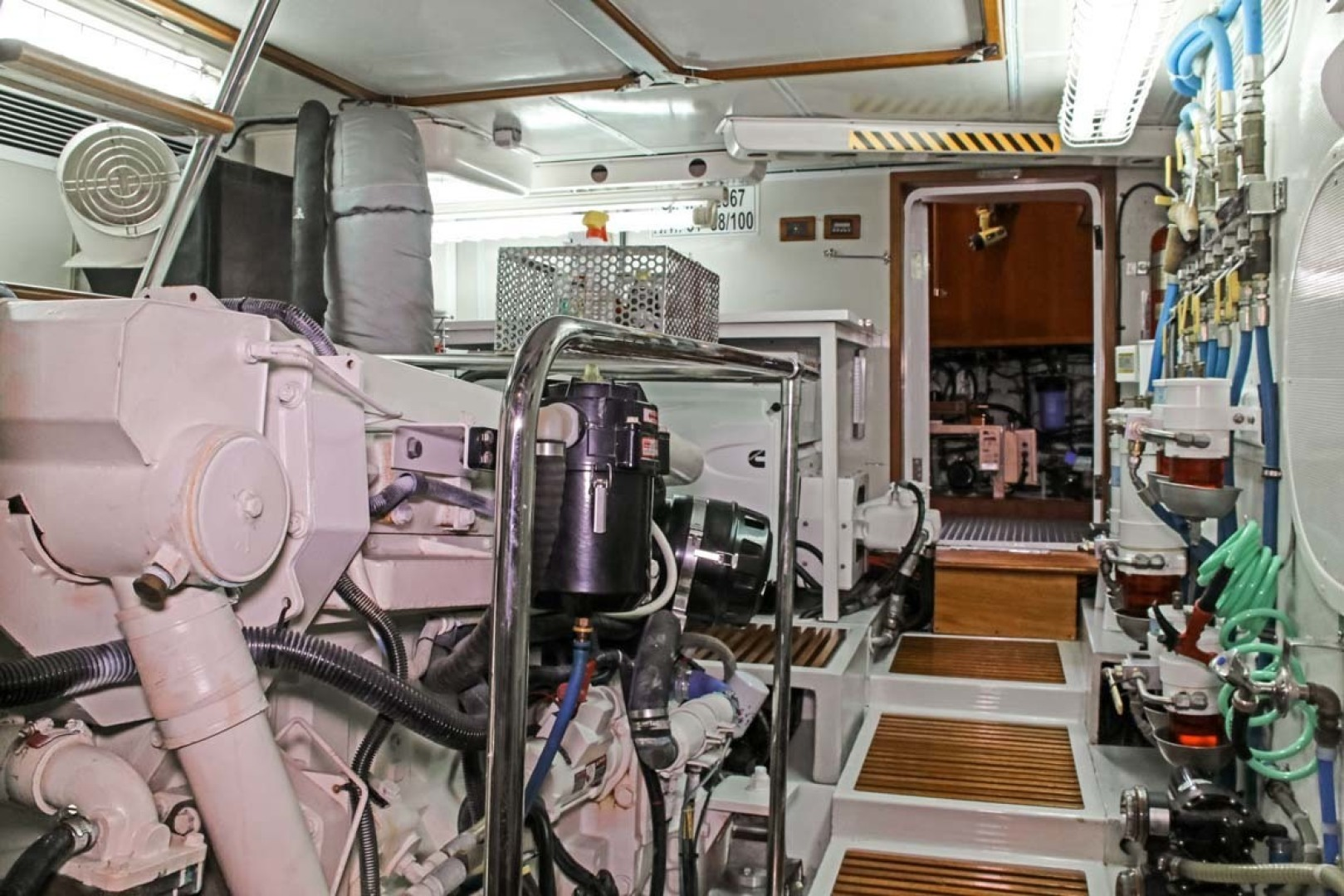Selene-60 Ocean Trawler 2010-Gypsy Magic Jacksonville-Florida-United States-Engine Room-1346773 | Thumbnail