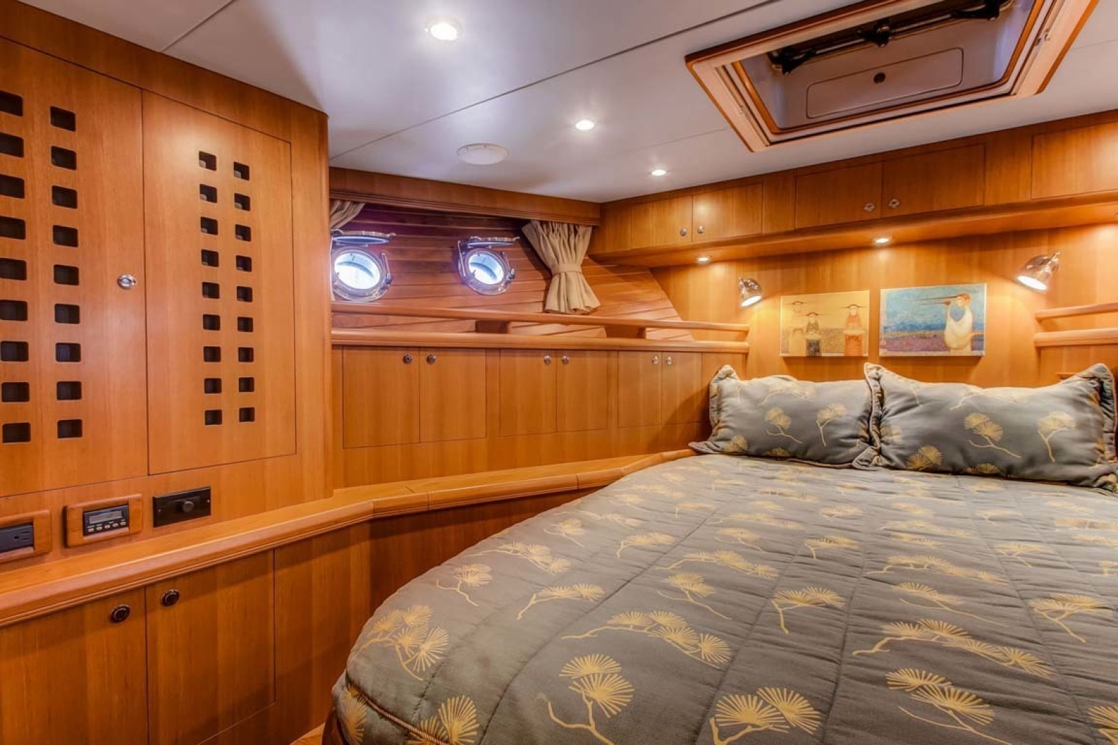Selene-60 Ocean Trawler 2010-Gypsy Magic Jacksonville-Florida-United States-Forward Stateroom-1346755 | Thumbnail