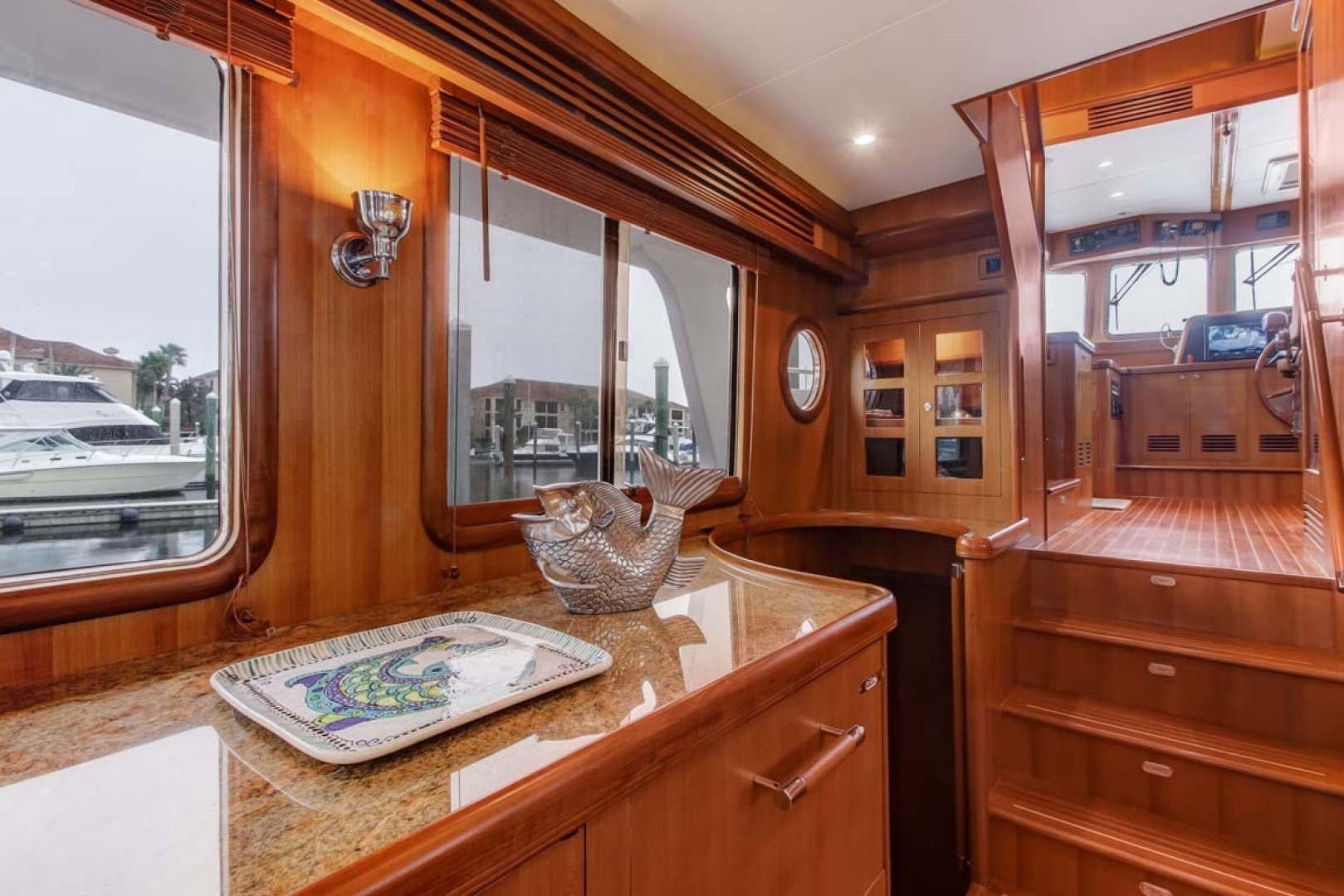 Selene-60 Ocean Trawler 2010-Gypsy Magic Jacksonville-Florida-United States-Salon To Helm Station-1346736 | Thumbnail