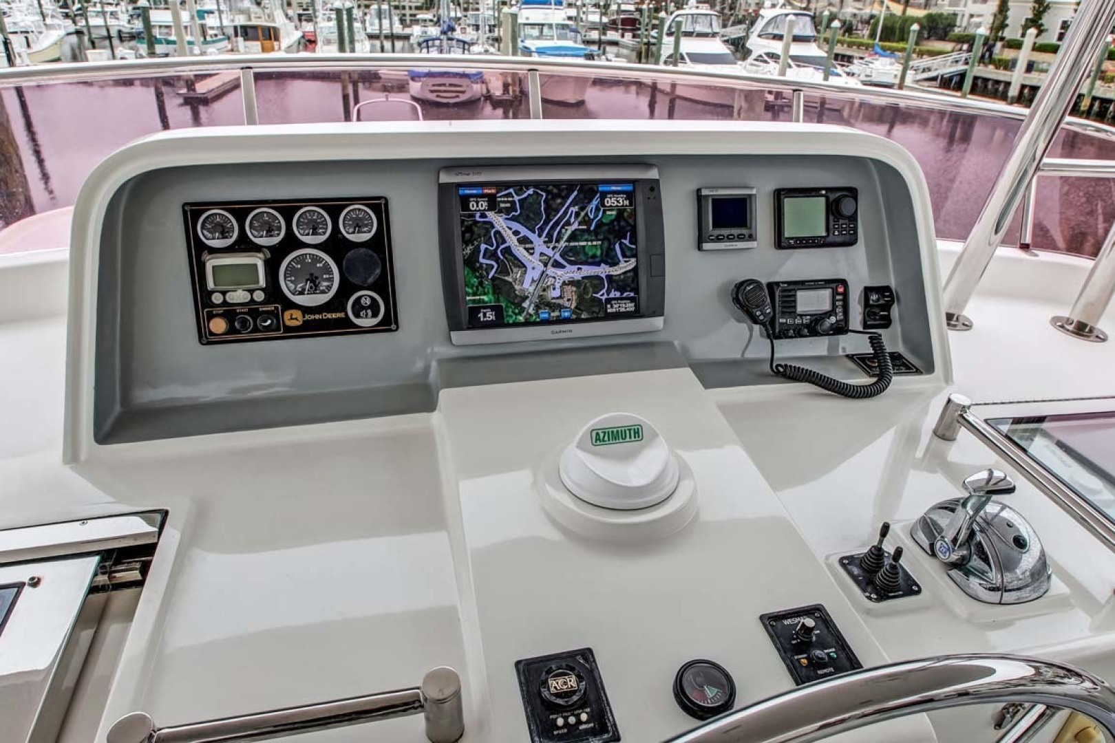 Selene-60 Ocean Trawler 2010-Gypsy Magic Jacksonville-Florida-United States-Bridge Deck Station-1346781 | Thumbnail
