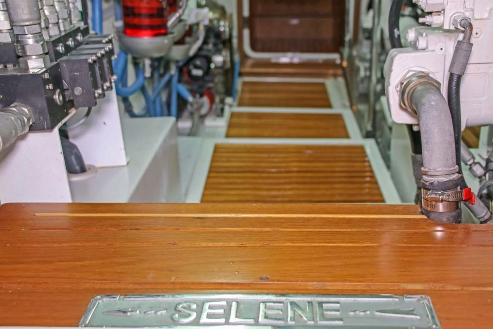 Selene-60 Ocean Trawler 2010-Gypsy Magic Jacksonville-Florida-United States-Engine Room-1346774 | Thumbnail