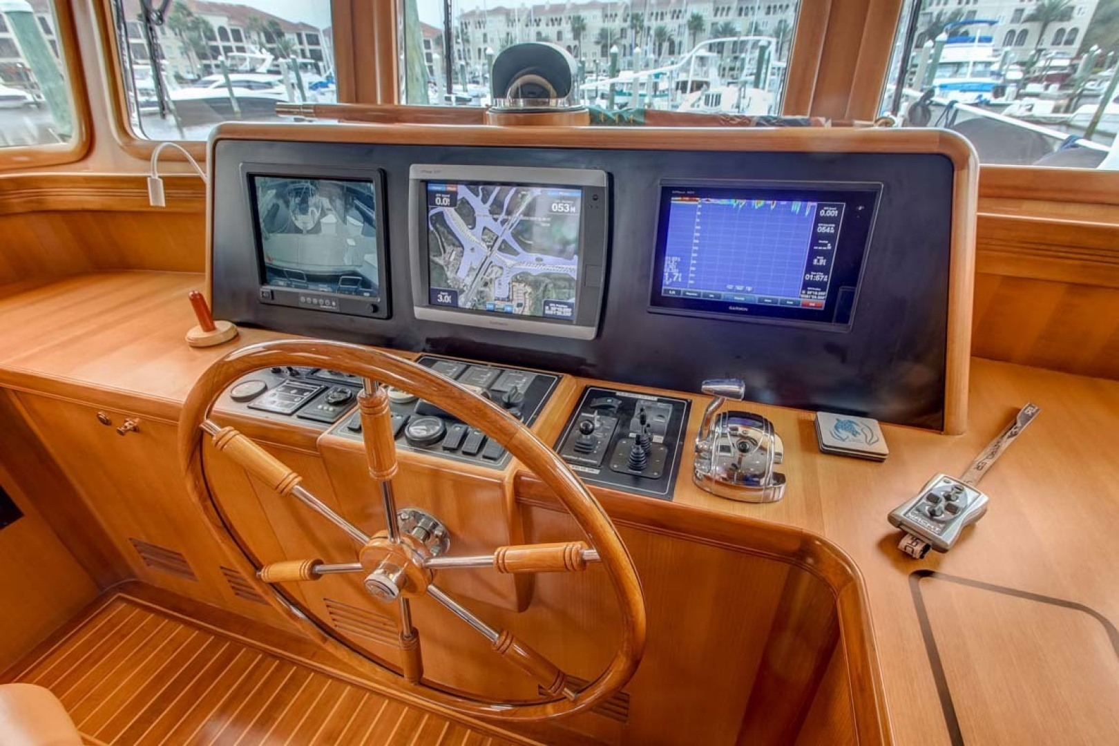 Selene-60 Ocean Trawler 2010-Gypsy Magic Jacksonville-Florida-United States-Helm station-1346721 | Thumbnail