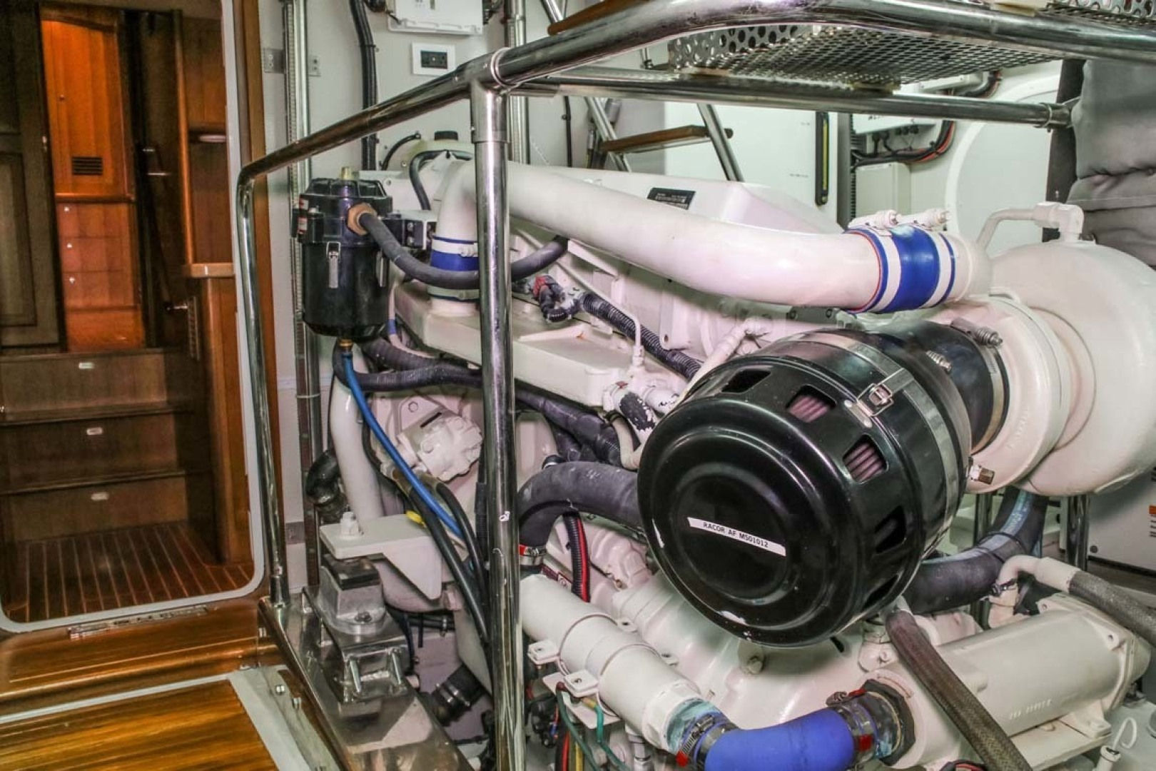 Selene-60 Ocean Trawler 2010-Gypsy Magic Jacksonville-Florida-United States-Engine Room-1346777 | Thumbnail