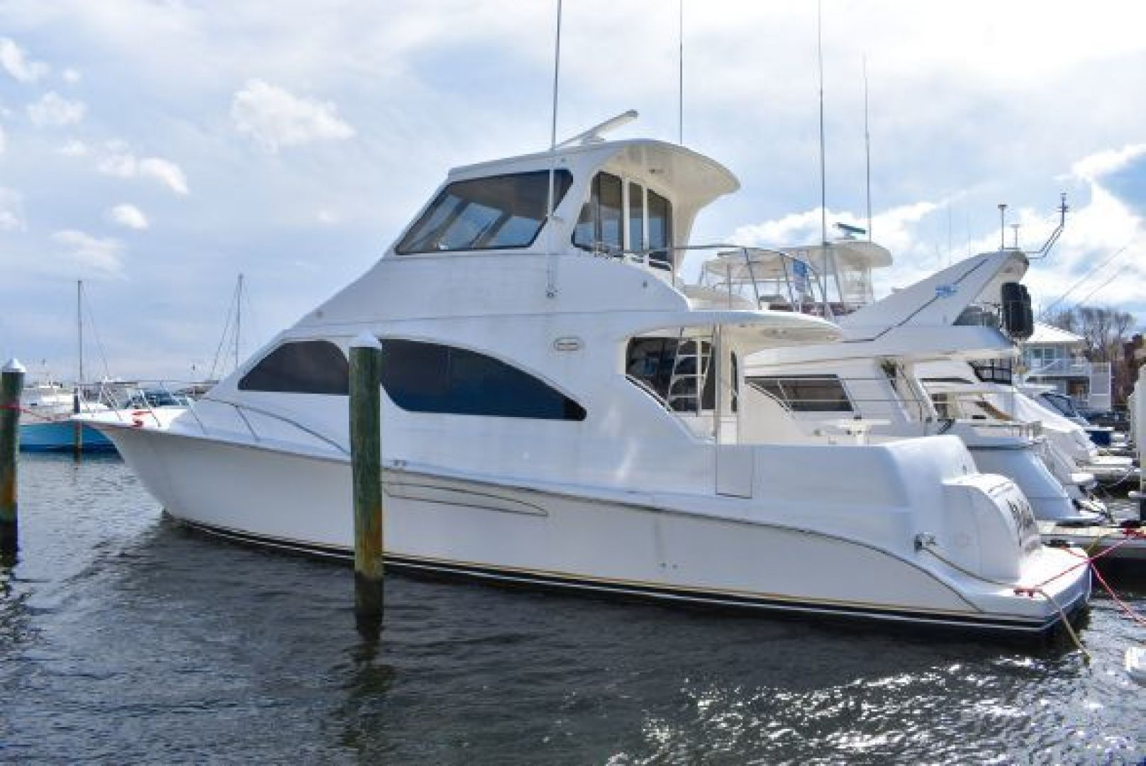 Picture Of: 63' Ocean Yachts 57 Odyssey 2004 Yacht For Sale | 1 of 21