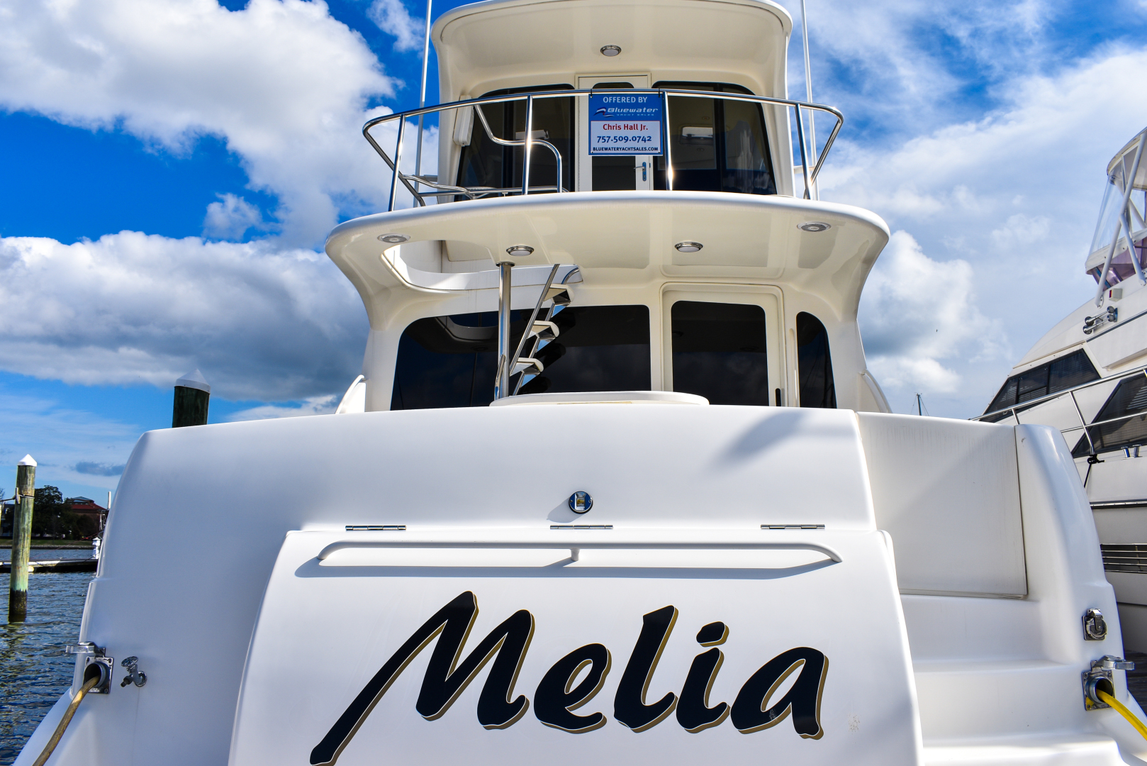 Picture Of: 63' Ocean Yachts 57 Odyssey 2004 Yacht For Sale | 2 of 21