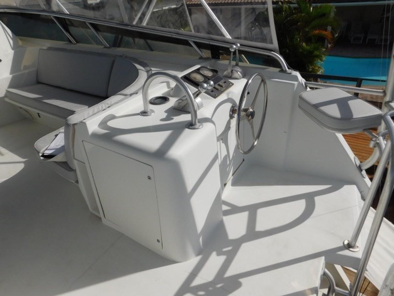 Hatteras-Sportfish 1990-Spindrift North Palm Beach-Florida-United States-Starboard Aft Of Bridge-1420007 | Thumbnail