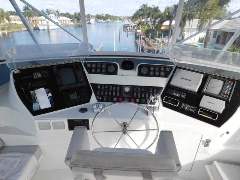Hatteras-Sportfish 1990-Spindrift North Palm Beach-Florida-United States Helm-1420001 | Thumbnail