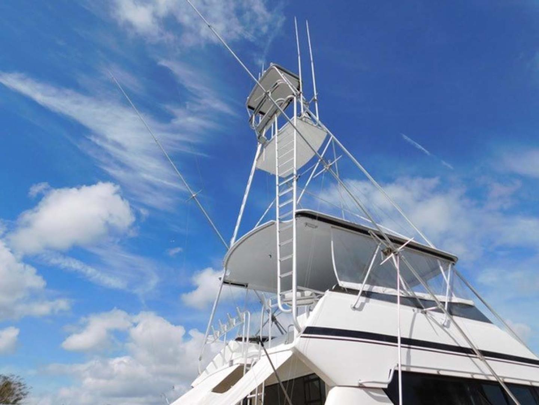Hatteras-Sportfish 1990-Spindrift North Palm Beach-Florida-United States Tuna Tower-1419997 | Thumbnail