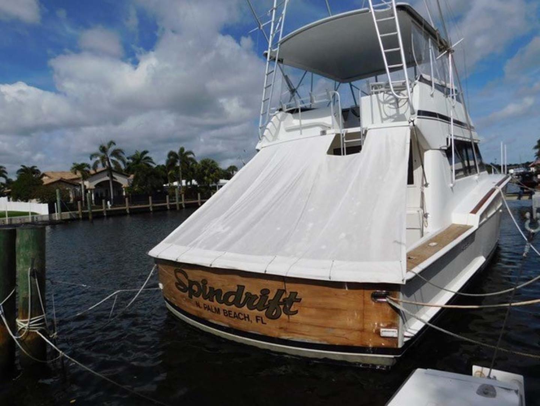 Hatteras-Sportfish 1990-Spindrift North Palm Beach-Florida-United States-Stern-1420065 | Thumbnail