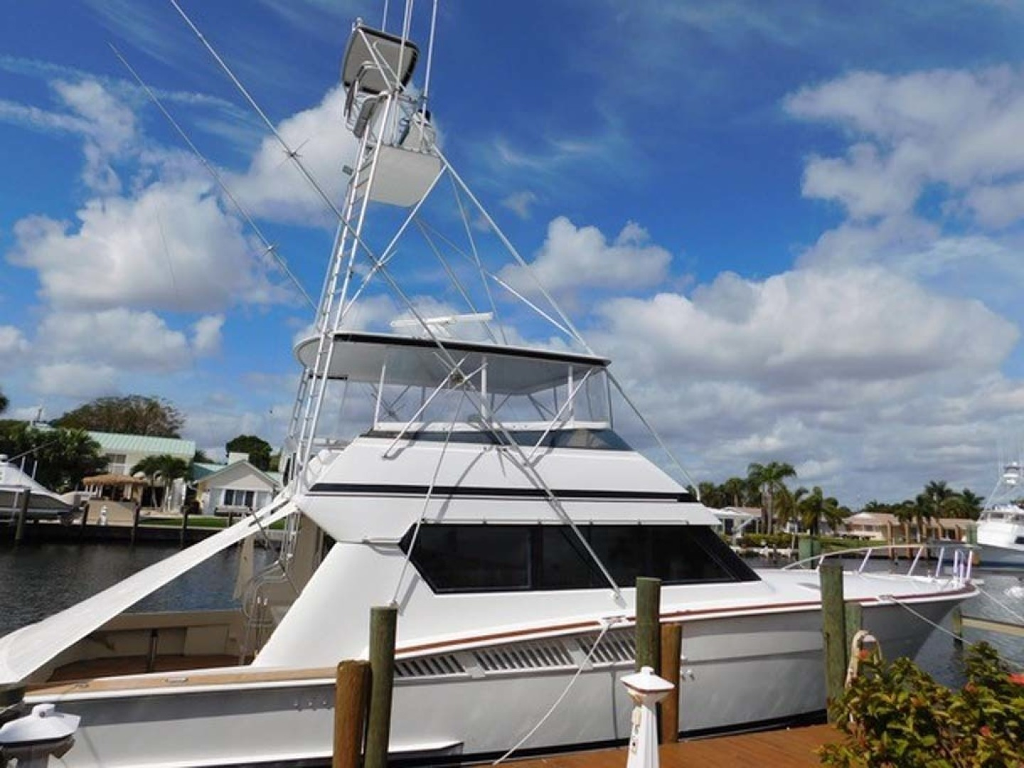 Picture Of: 58' Hatteras Sportfish 1990 Yacht For Sale | 1 of 62
