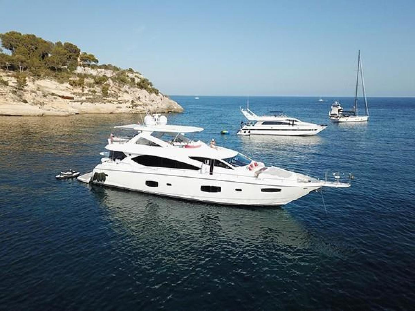 Picture Of: 88' Sunseeker Flybridge Motor Yacht 2011 Yacht For Sale | 2 of 30